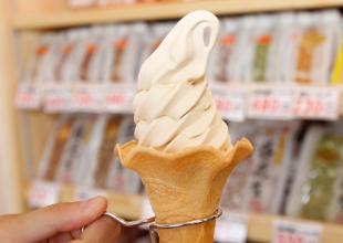 ピーナッツソフトクリーム