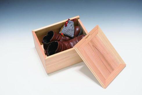新月材を使った魔法のShoes Box